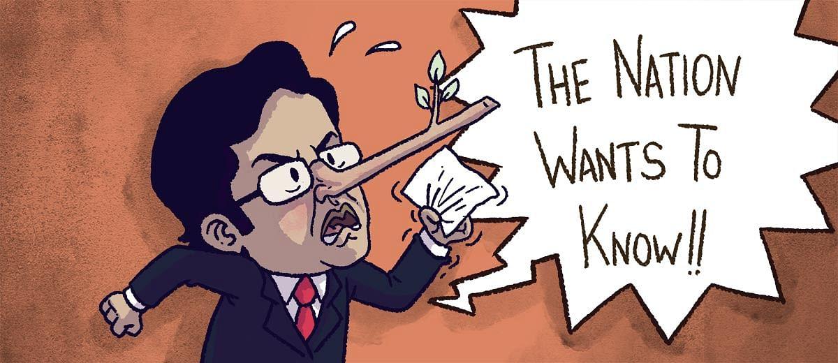 Arnab Goswami: An absentee reporter