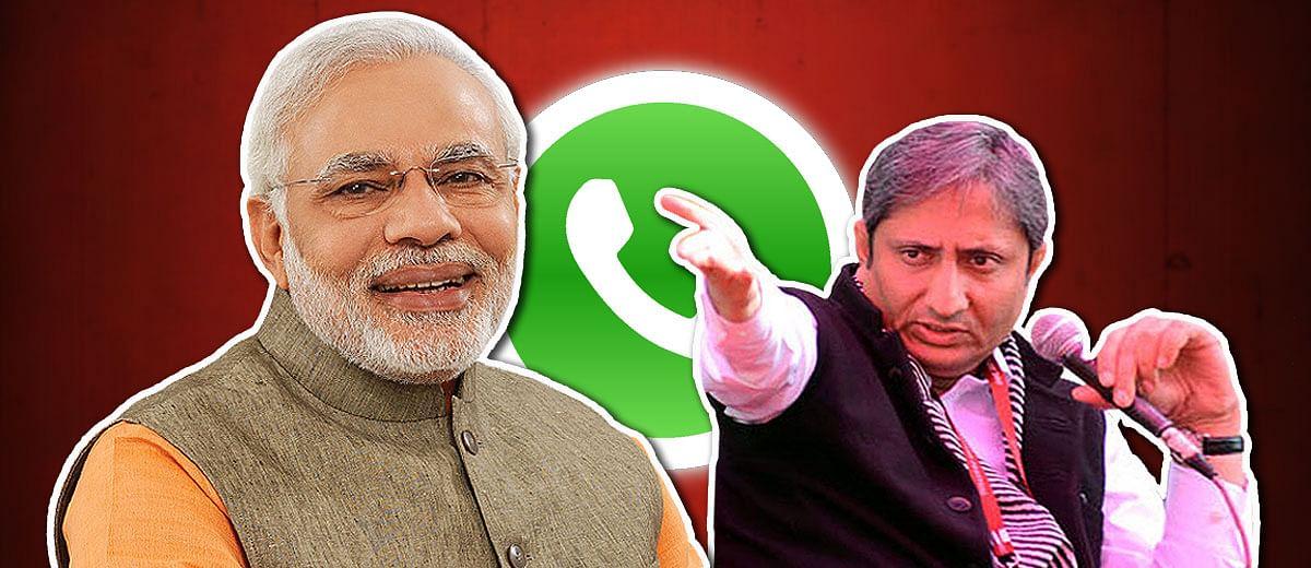 PM Modi follows Ravish Kumar's WhatsApp tormentor