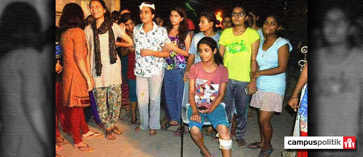 BHU's anger pours out onto the streets
