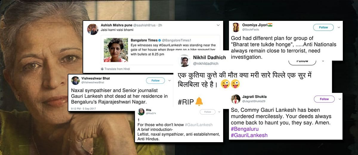 PM Modi follows 4 Twitter accounts that trolled #GauriLankesh