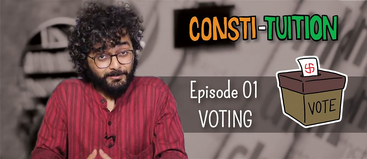 Here's Consti-tuition!  Episode 01: Voting