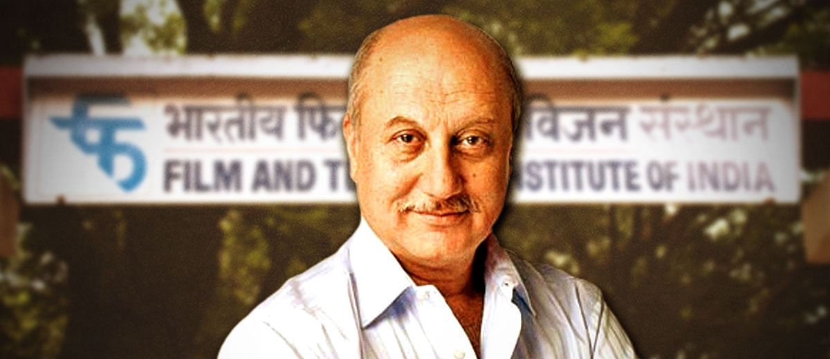 Appointing Anupam Kher #FTII chairman is a masterstroke