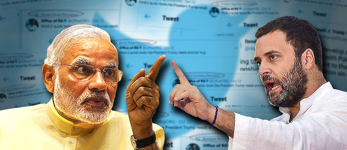 Modi vs Gandhi: Twitter analytics reveal fake followers plague both handles