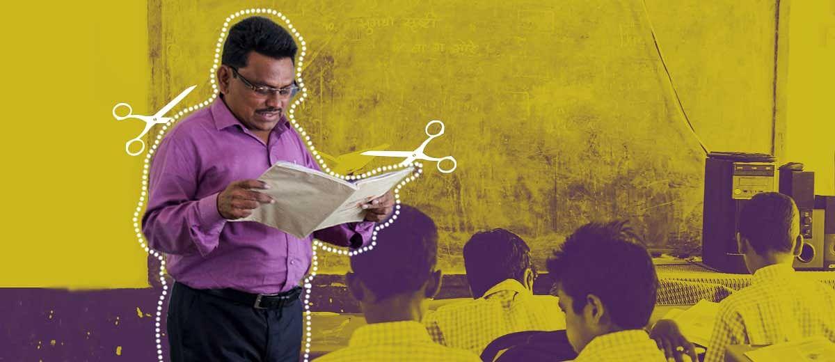 बदहाल शिक्षा: क्या हमारे शिक्षक बदली मजदूर हैं?