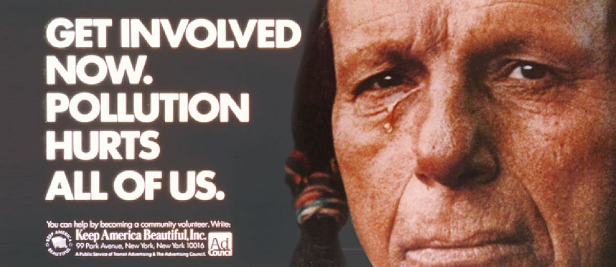 The 'Crying Indian' ad that fooled the environmental movement