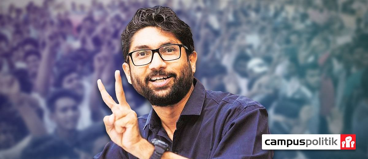 Phew! Exhausted students take a bow for Jignesh Mevani's Gujarat success
