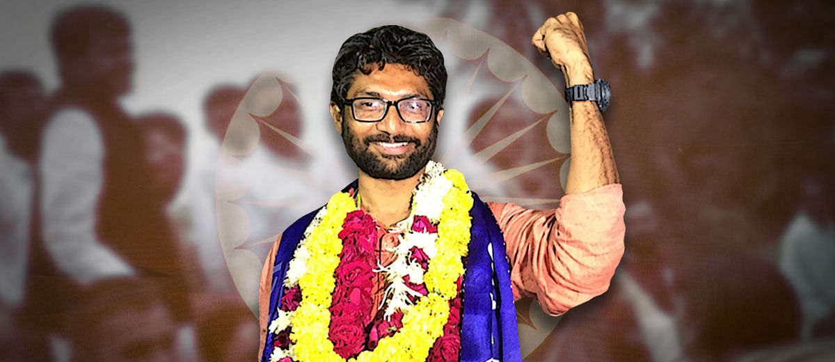 Jignesh Mevani: Inside story of Gujarat's 'Ambedkar' and now Vadgam MLA