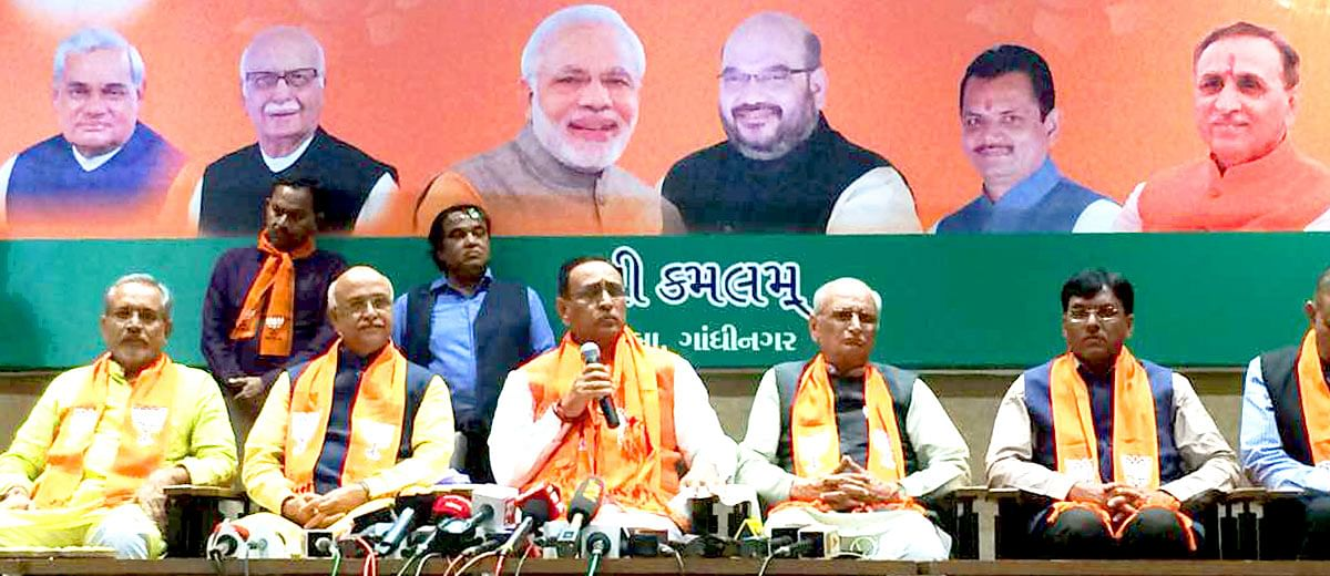 3 things that saved the BJP's sinking boat in Gujarat