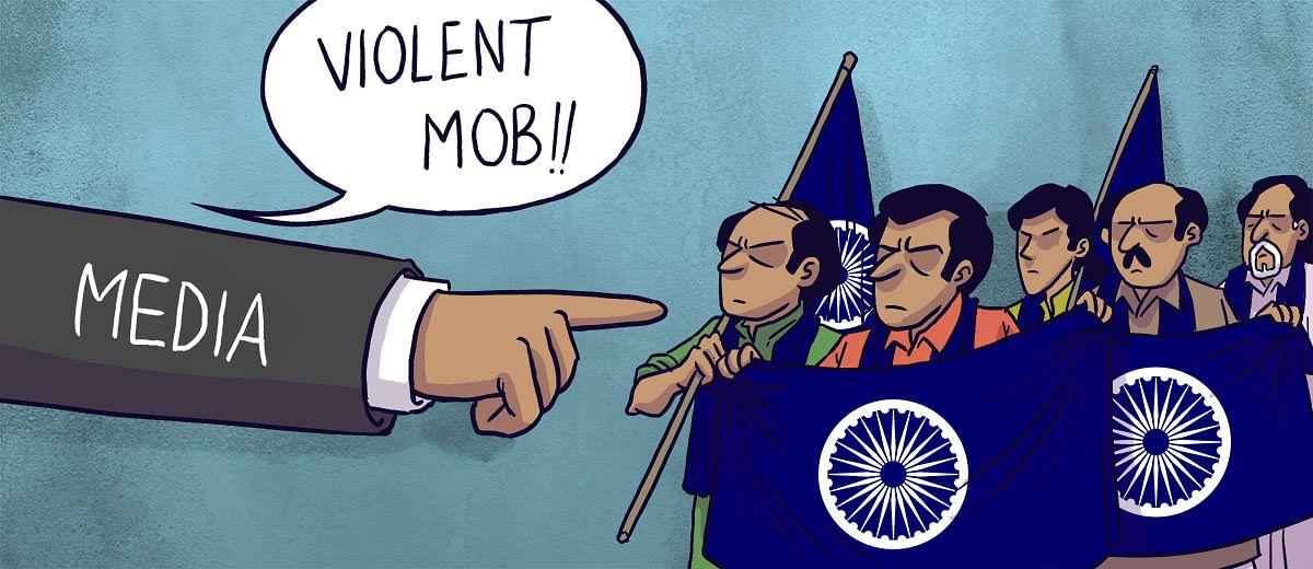 #BhimaKoregaon and media's obscurantism
