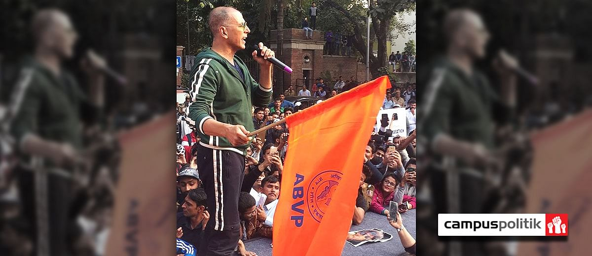 Women empowerment: Brought to DU by ABVP, featuring Akshay Kumar
