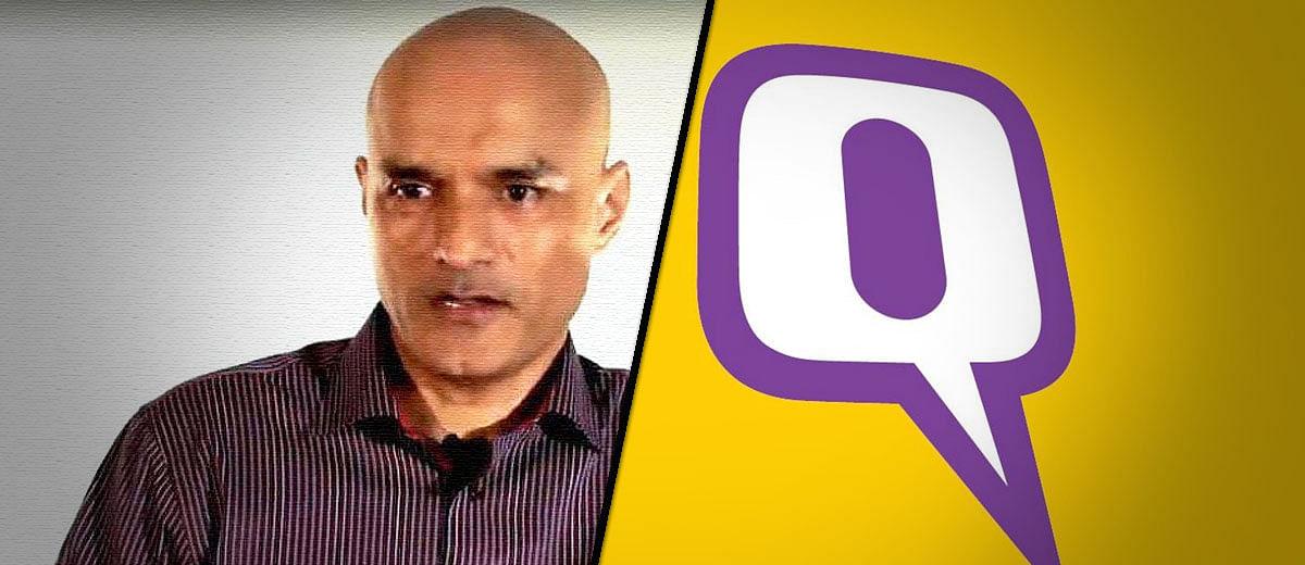 Why The Quint's story on Kulbhushan Jadhav has zero credibility