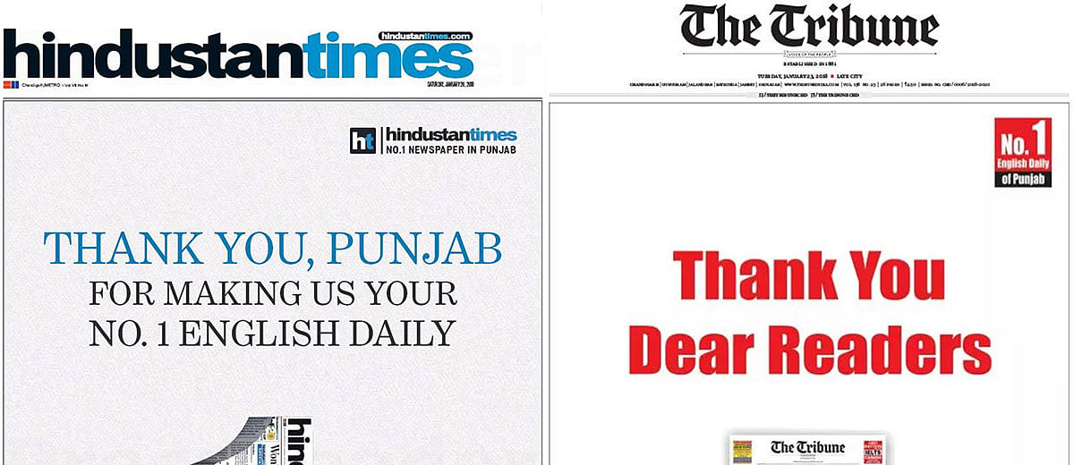 When two newspapers claim to be No. 1, whom should you believe?