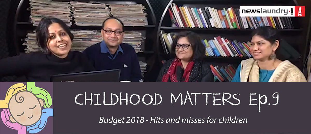 #ChildhoodMatters Episode 9: Budget2018-Hits and misses for children