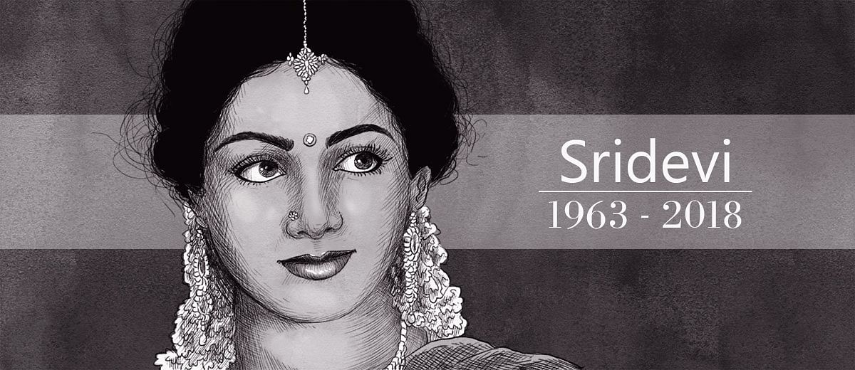 With love to #Sridevi, from Pakistan