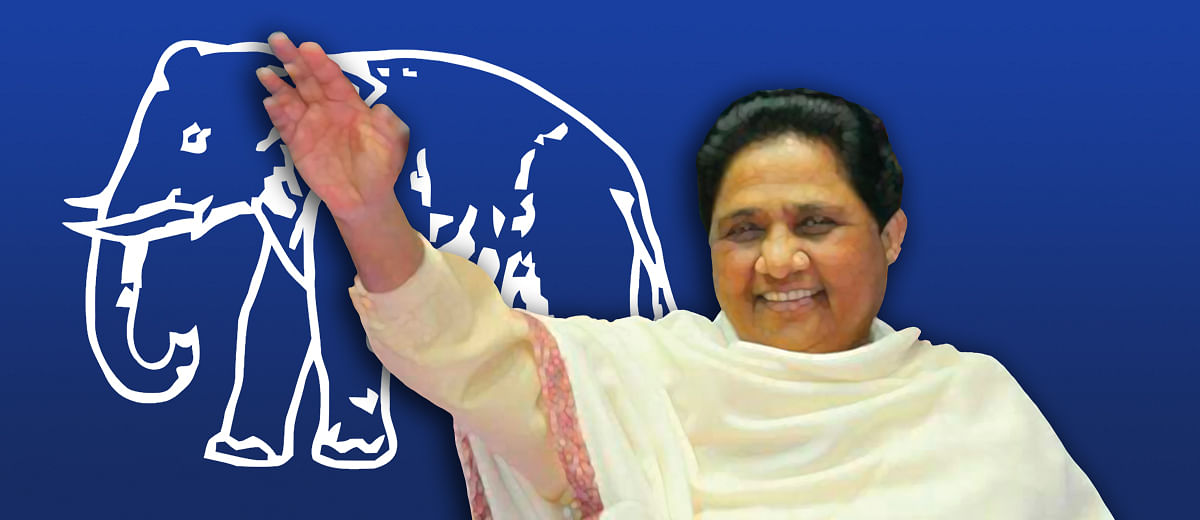 What Mayawati meant by saying 'no tie-up with SP'