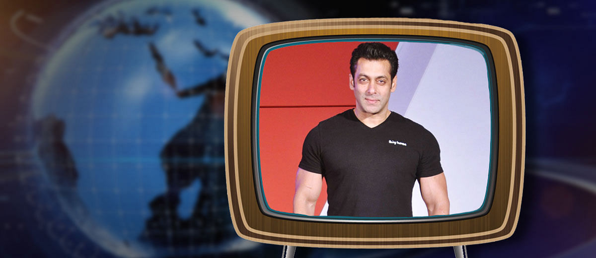 TV news to Salman Khan's rescue, once again