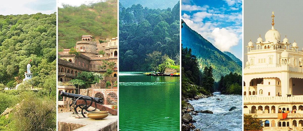 Scenic spots for this summer