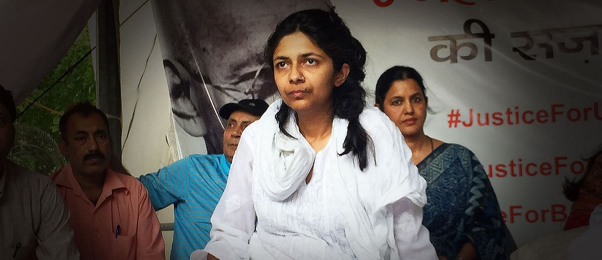 DCW chief's hunger strike yet to evoke Central govt's response