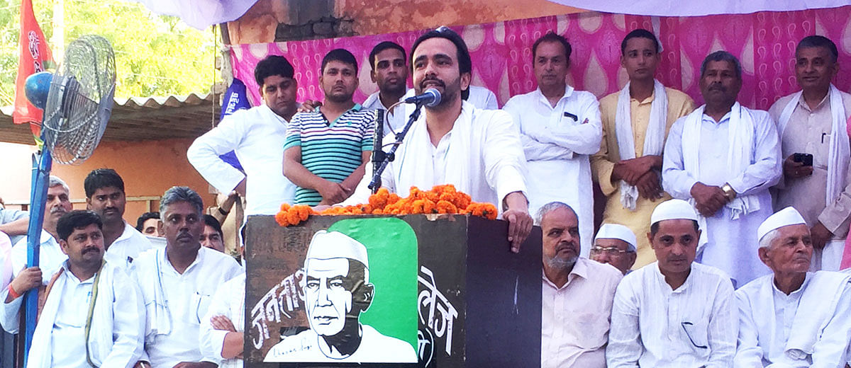Voters in Kairana don't care about Jinnah's portrait: RLD's Jayant Chaudhary