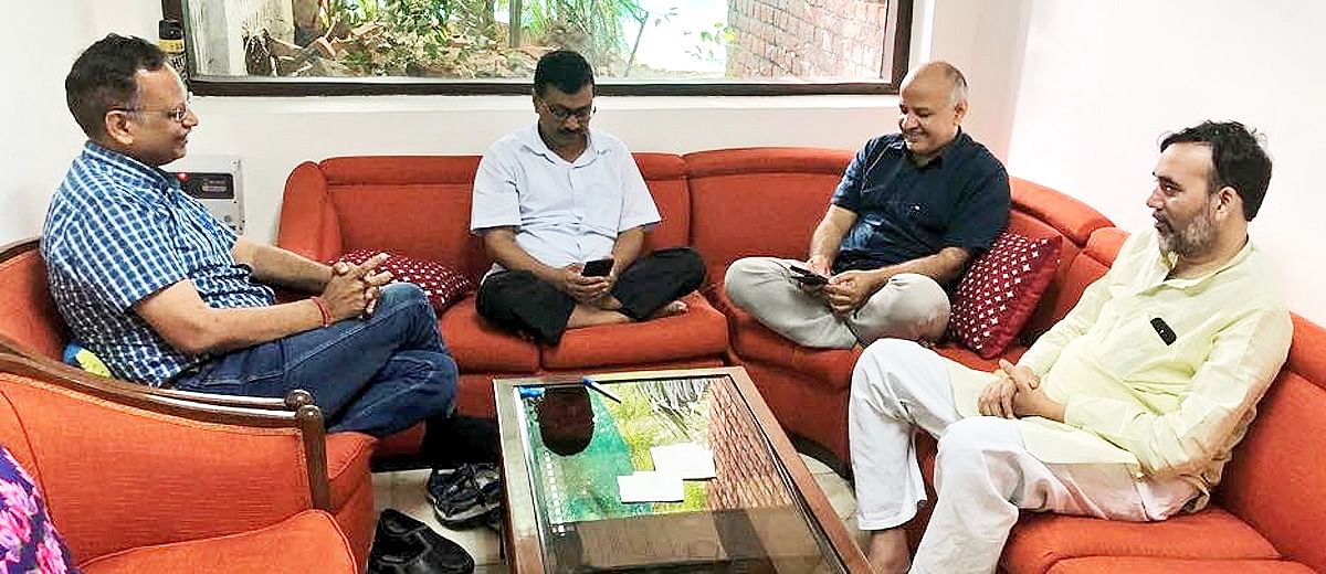 How AAP used a special session on Delhi's statehood to attack IAS officers