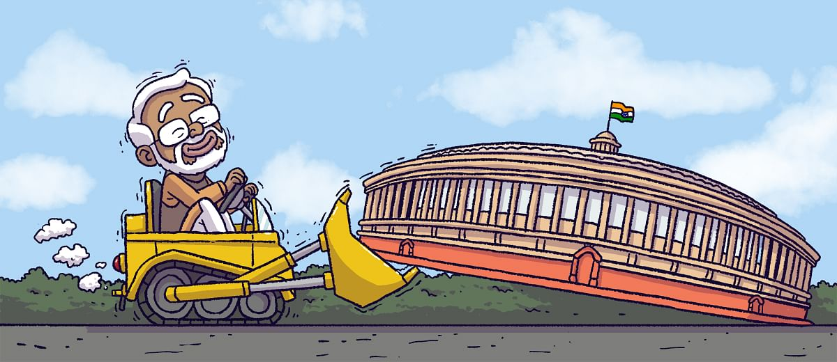 How the Modi Government systematically made Parliament irrelevant