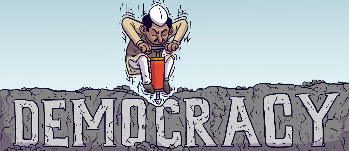 The crumbling guardrails of India's democracy