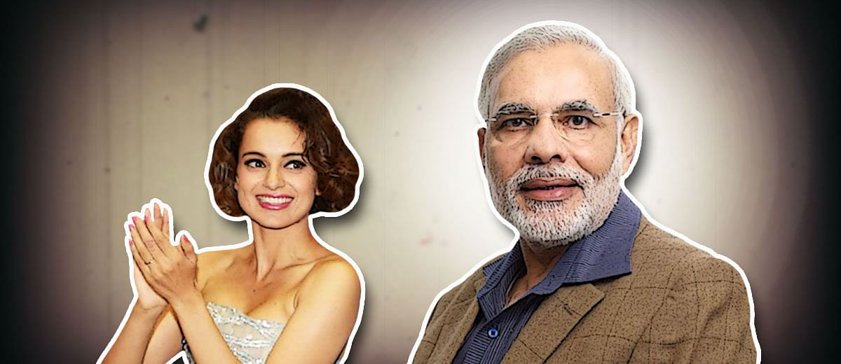 Did you really mean Modi, Kangana?