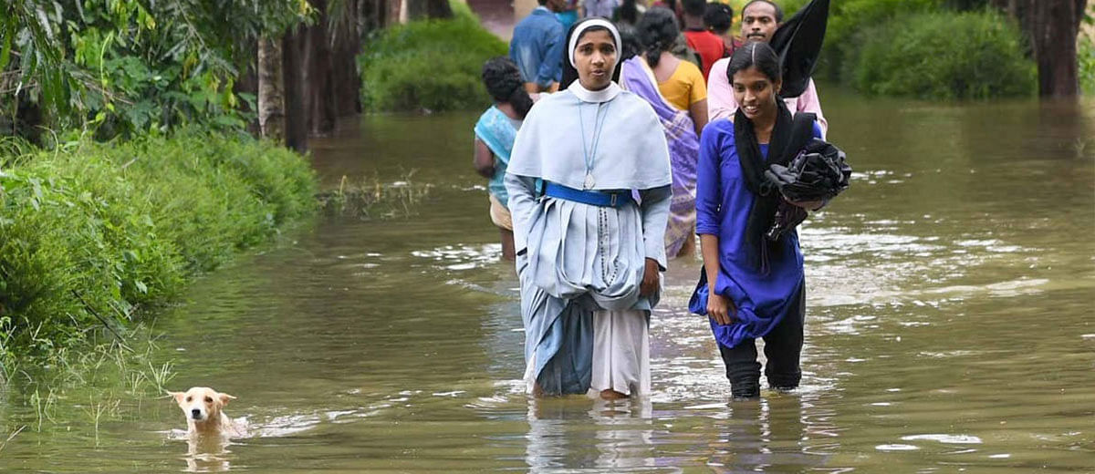 Community work and social media are working for Kerala