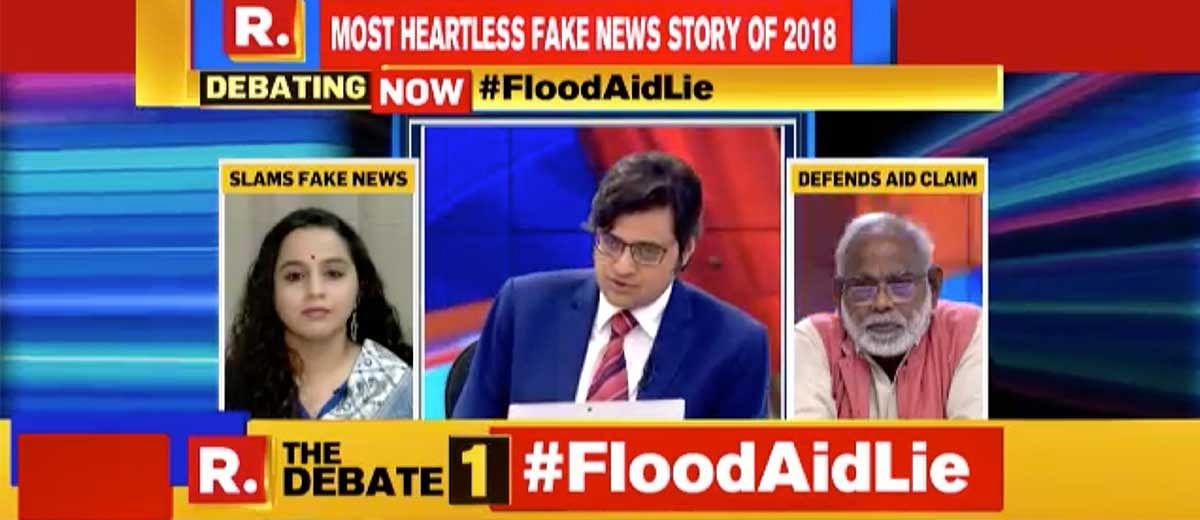 The truth about Arnab Goswami calling Keralites 'shameless'