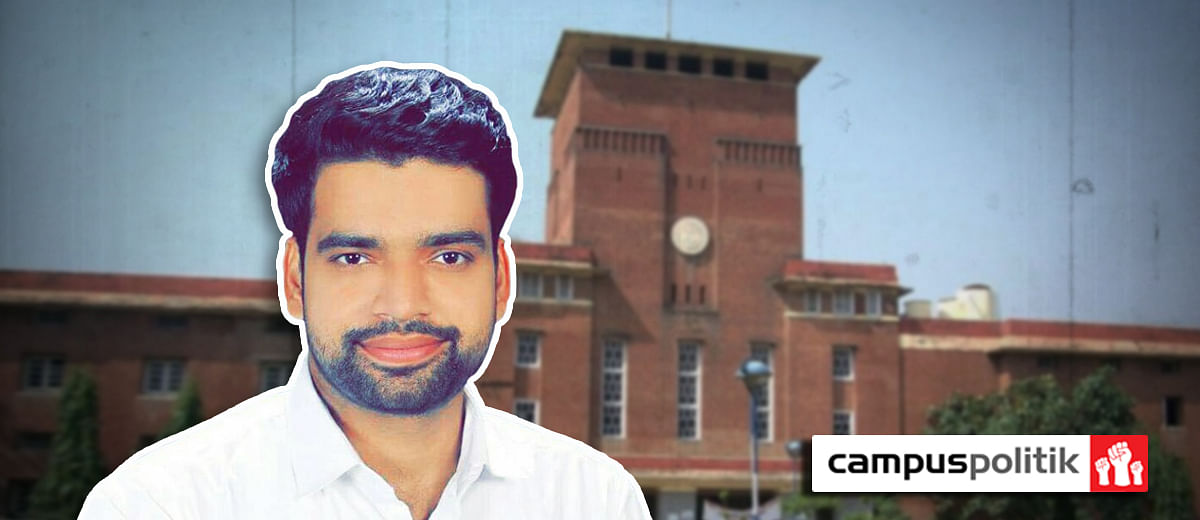 EXCLUSIVE: DUSU President Ankiv Baisoya was registered at DU in 2013-16, how did he attend classes in Vellore?
