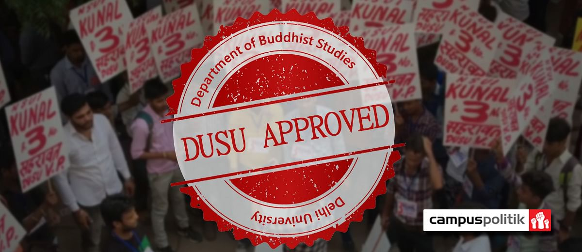 The 'strange' role of the Buddhist Studies Department in #DUSU election
