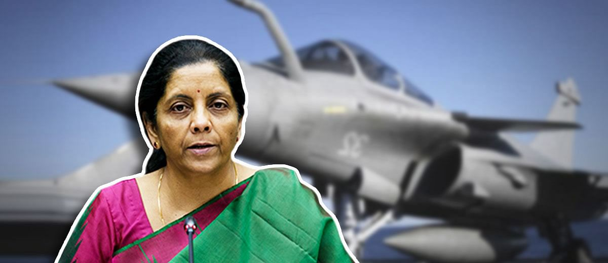 Why is Nirmala Sitharaman trying to distance herself from the Rafale JV?