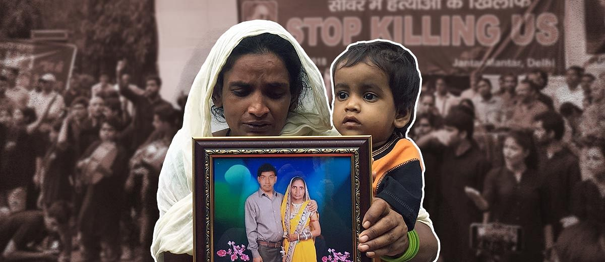 Murders in the sewer pits: Voices from the Jantar Mantar protest