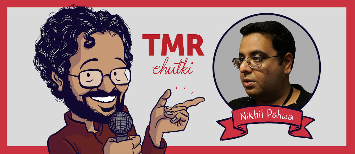 TMR Chutki: Nikhil Pahwa on how he balances activism and journalism