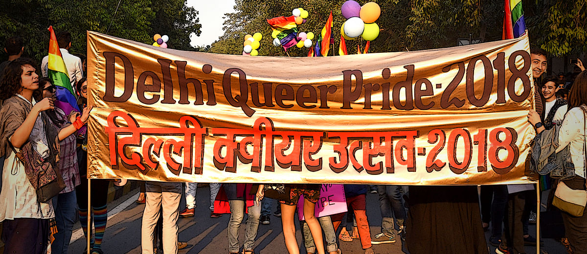 First Pride Parade post 377 verdict, Delhi hoists the rainbow flag higher