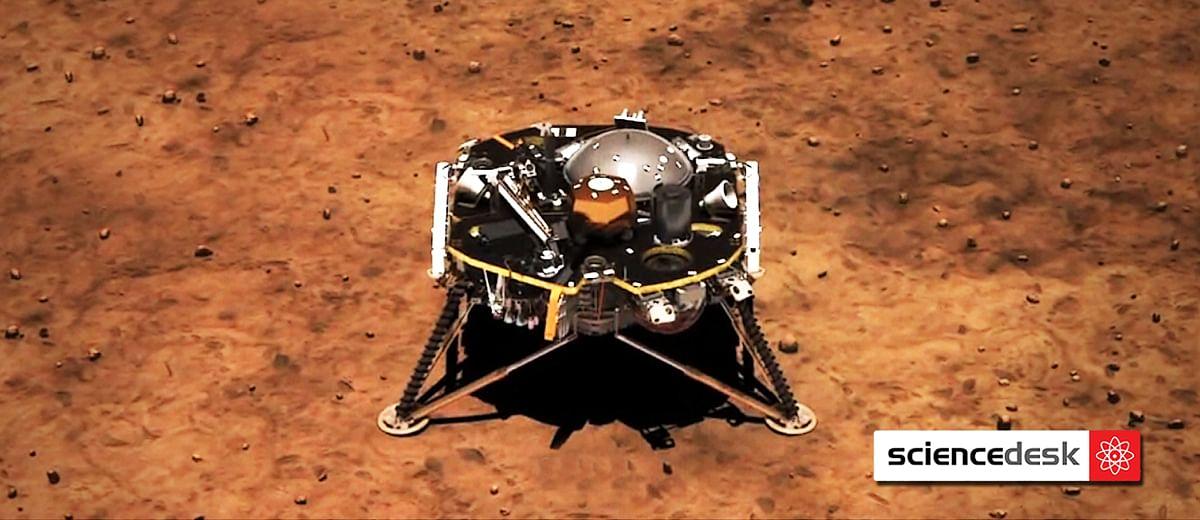 NASA's InSight lander travels 300 million miles to land on Mars
