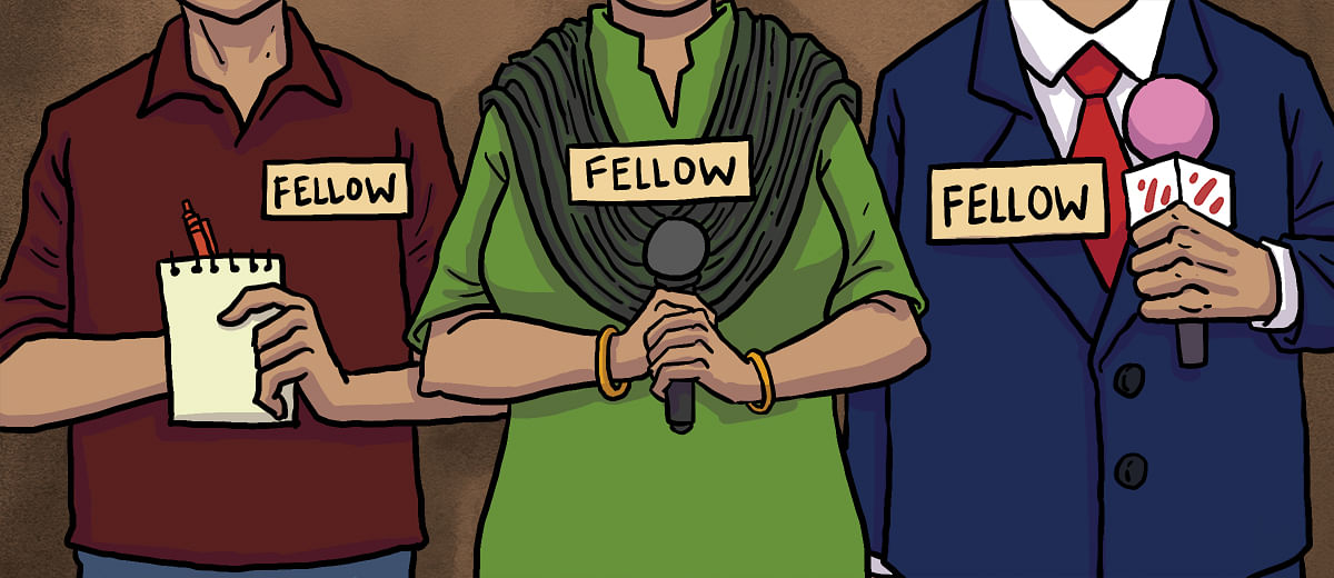 News media houses move to 'reporting fellowships', but who's the winner?