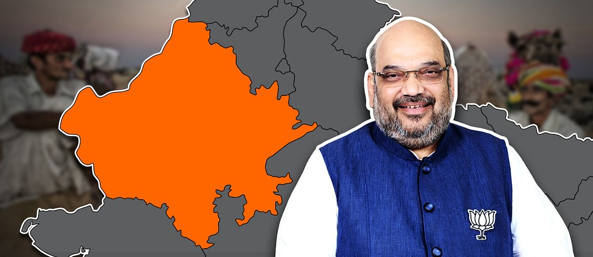 #RajasthanPolls: How Amit Shah's 'super teams' from Gujarat are pitching in for the BJP