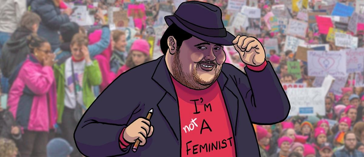 Want to be a male feminist? We've got you covered