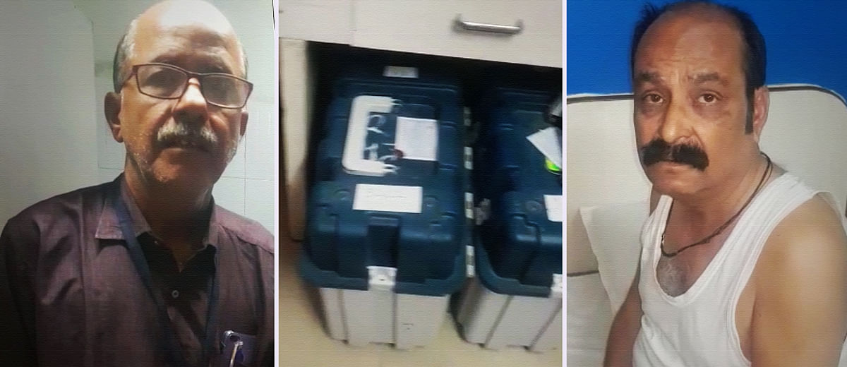 #MPPolls: A viral video shows EC officials with EVMs at a hotel—but how credible is it?