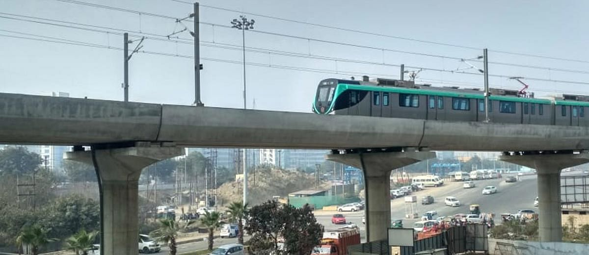 What is holding the Noida metro back?