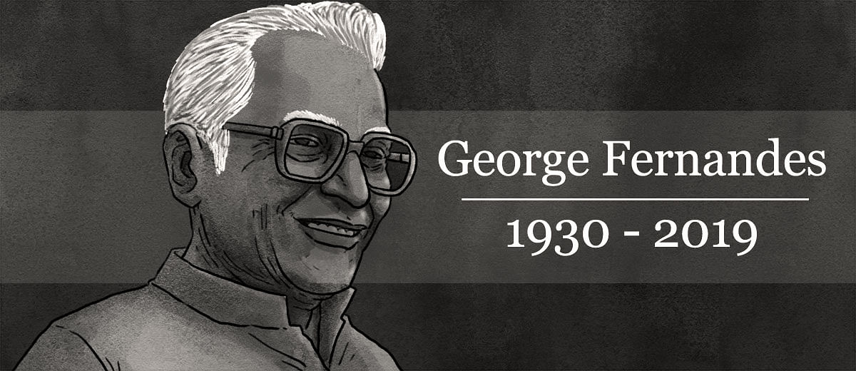 जॉर्ज फर्नांडीज: परछाईं लंबी होती रही, शख्सियत लगातार घटती रही
