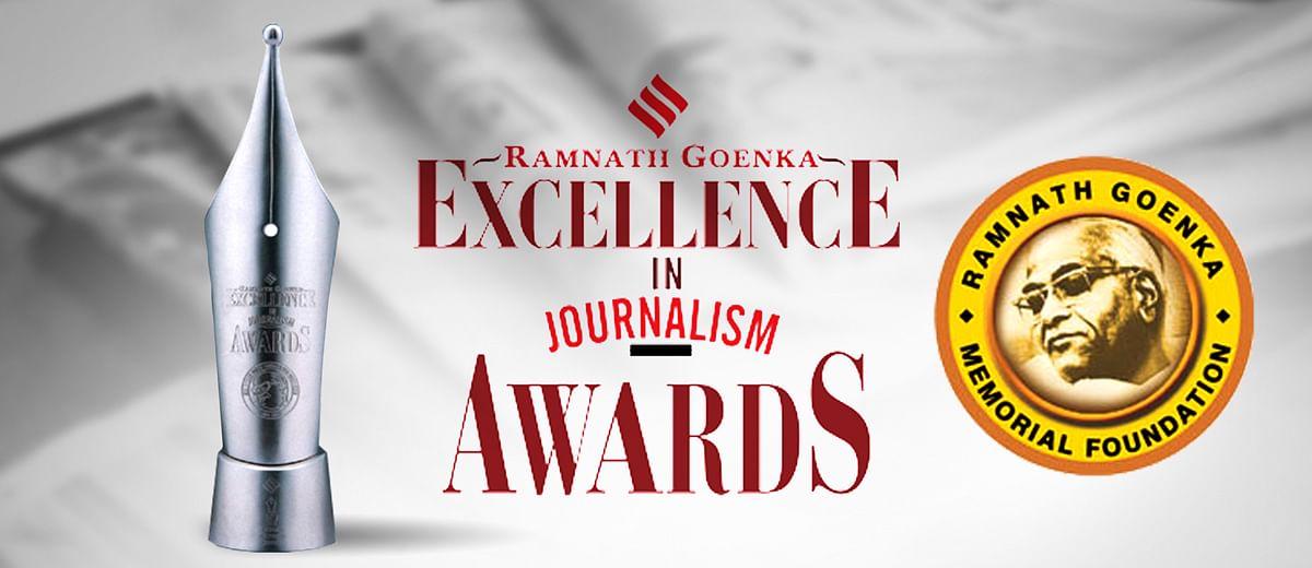 अभिसार शर्मा और अमित सिंह को मिला हिंदी श्रेणी में रामनाथ गोयनका अवार्ड