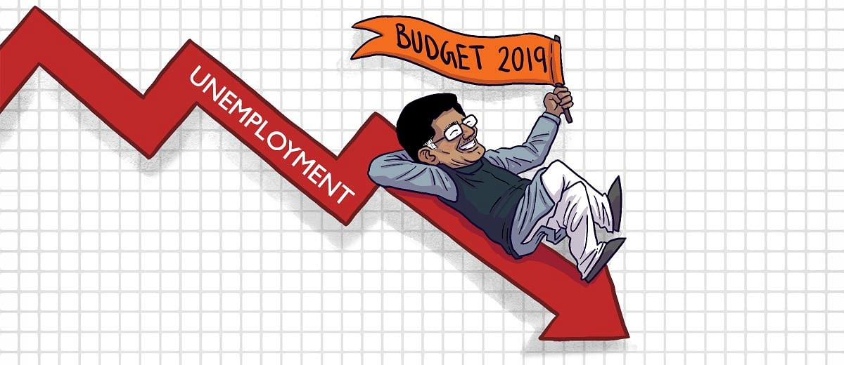 There's nothing in #Budget2019 to boost jobs or employment