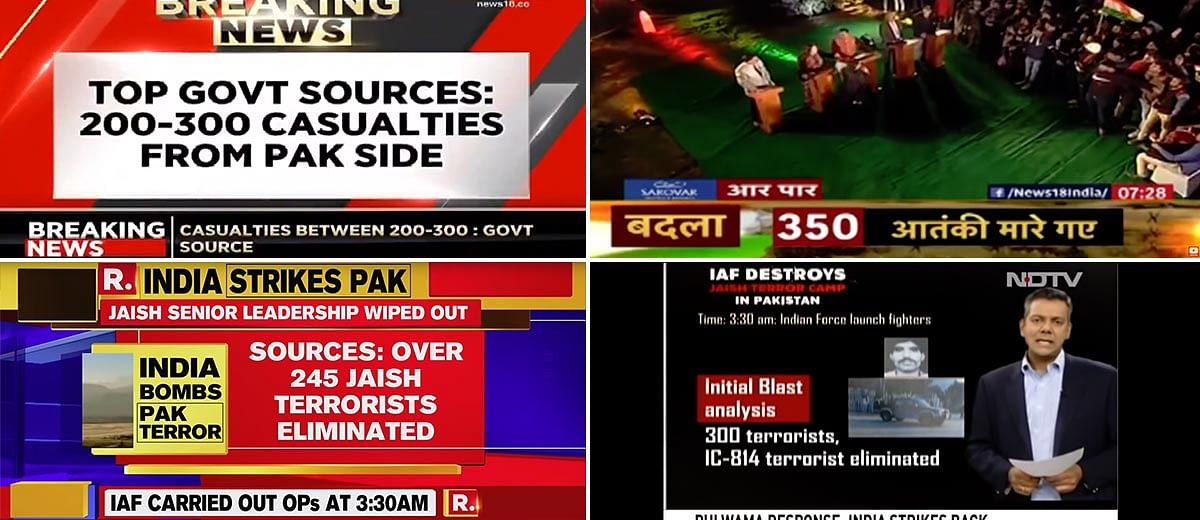 'Over 300 casualties' in Balakot airstrikes, but who's the 'source'?
