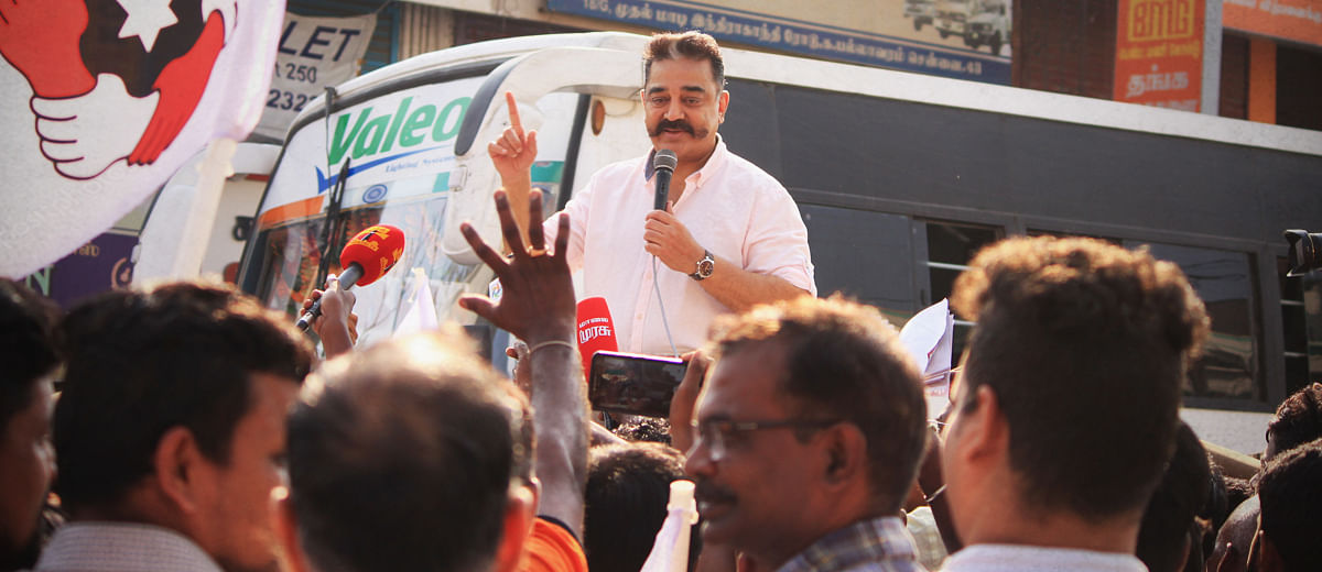 Will Kamal Haasan's star power translate to political ability?