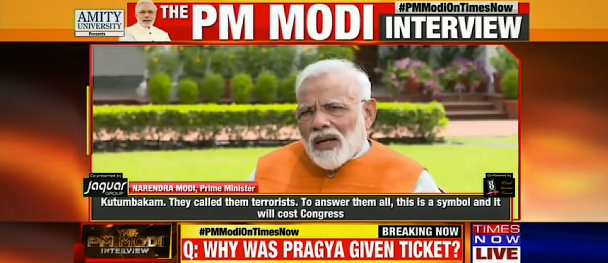 In defending Sadhvi Pragya, PM Modi committed the ultimate mistake