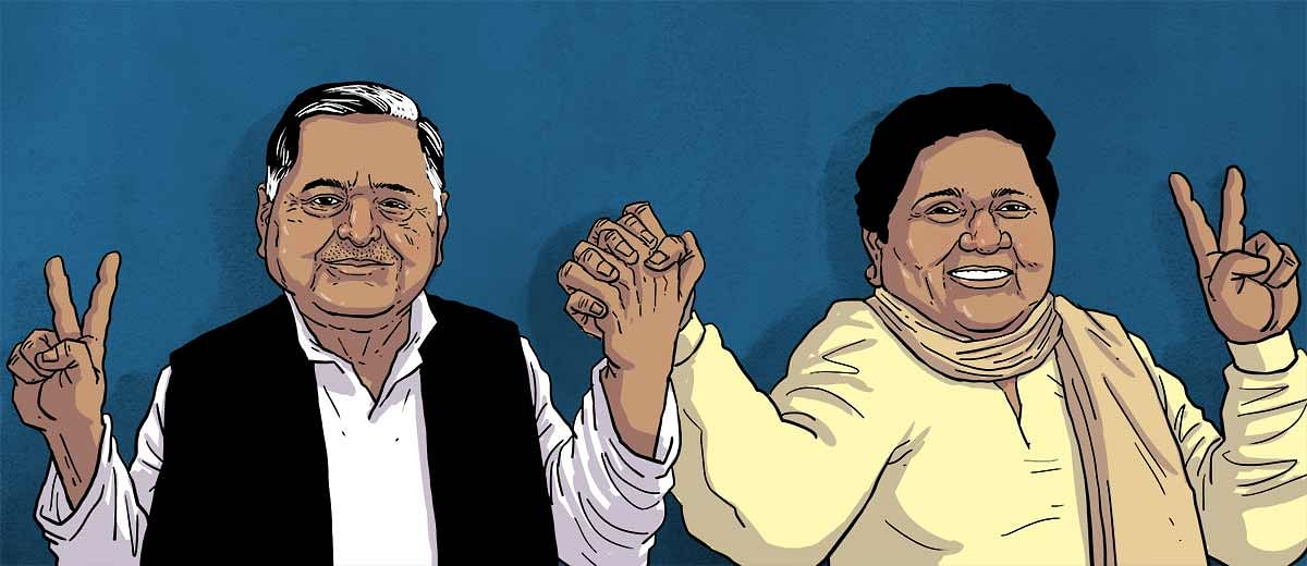 Mayawati-Mulayam are rewriting history but can they recreate the magic?