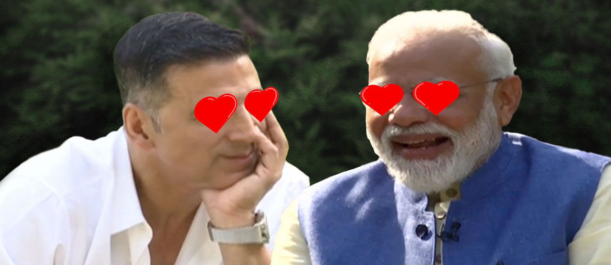 #ModiWithAkshay: BJP's publicity team finally manages a PR coup!