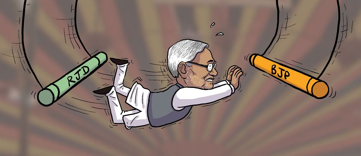 #Elections2019: Why Nitish Kumar is facing a crisis of credibility in Bihar
